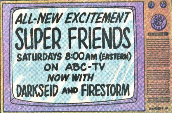 Super Friends ad