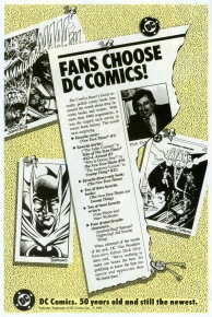 DC Fans Choose 1985