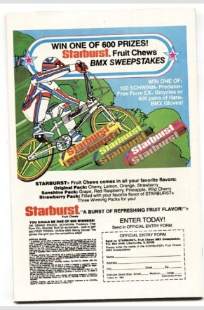 Starburst BMX ad